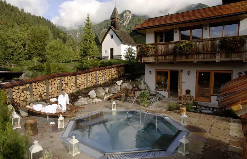 Almwellnessresort Tuffbad im Lesachtal in Kärnten
