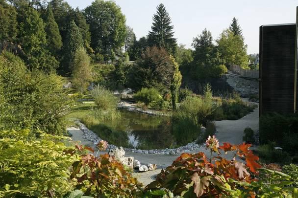 Botanischer Garten im Kärntner Botanikzentrum in Klagenfurt