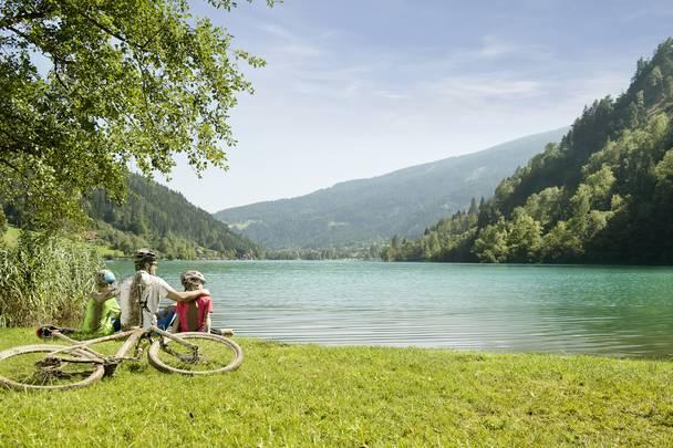 Geschmack der Kindheit - Mountainbike Afritzer See