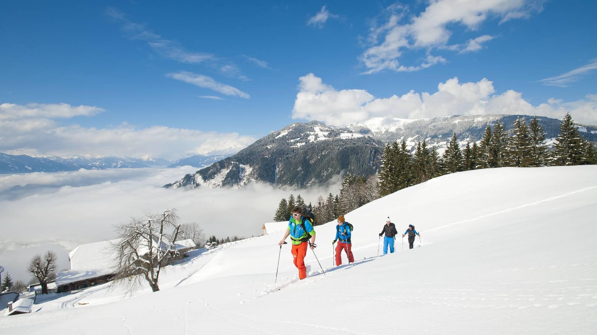 Skitour Mirnock
