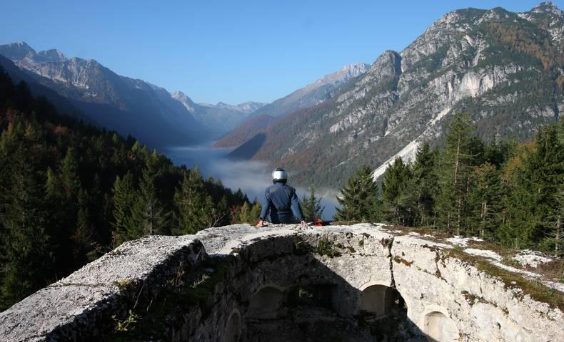 Motorradland Kärnten, Cave del Predil