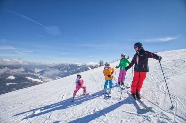 Skifahren in Bad Kleinkirchheim mit der ganzen Familie