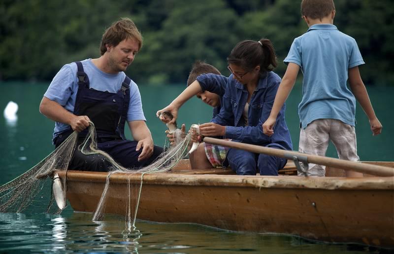 Geschmack der Kindheit - Anfischen am Millstätter See