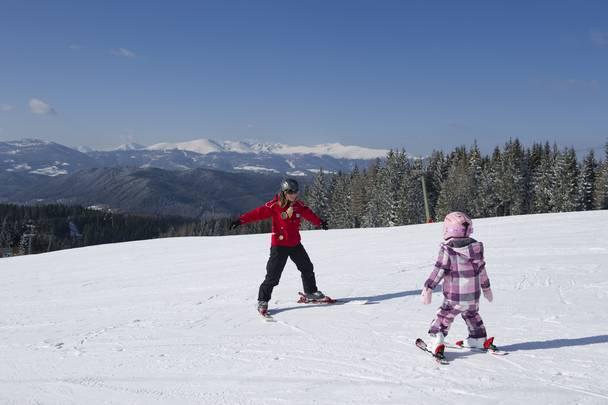 Skikurs auf der Simonhöhe