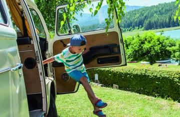 <p>Camping in Kärnten, Camping Ilsenhof</p>