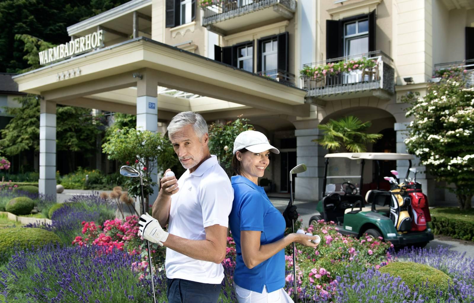 <p>Golf in Kärnten</p>