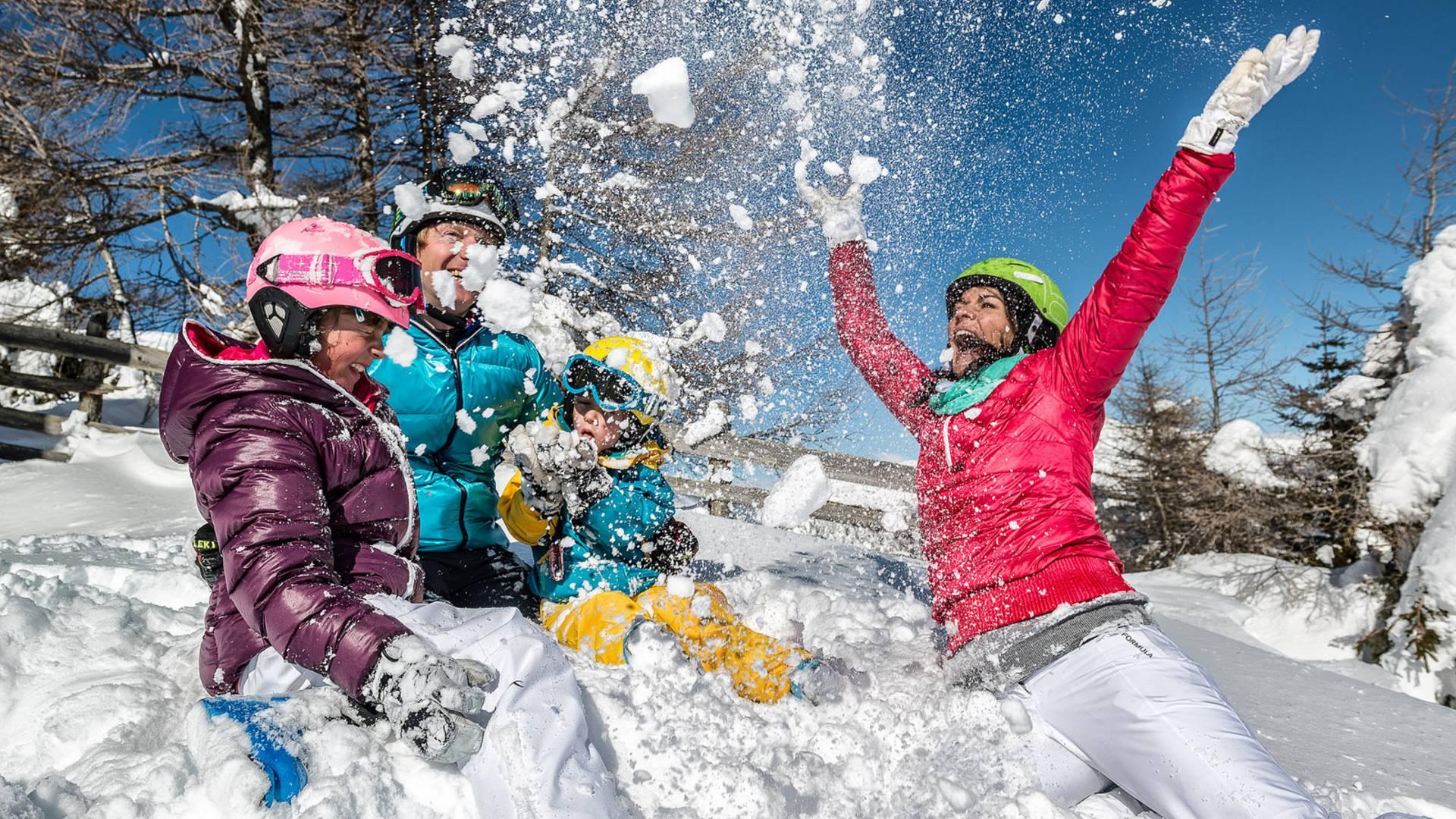 Katschberg Familienspass im Schnee
