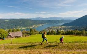 Alpe Adria Trail am Ossiacher See