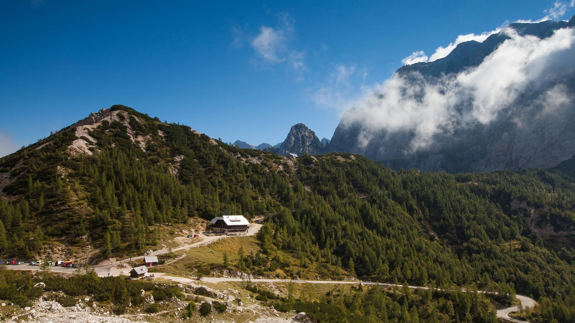 Vršič-Pass: die Verbindung zwischen Kranjska Gora und dem Soča-Tal