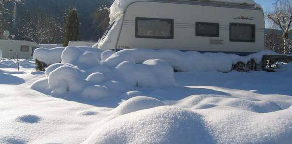 Camping in Kärnten, Wintercamping Brunner