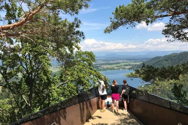 Klopeiner See Slow Trail Kitzelberg