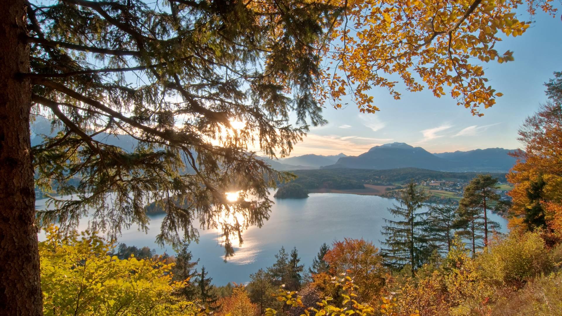 Auf der Taborhöhe am Faaker See in der Region Villach