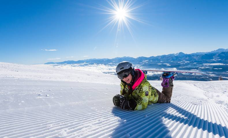 Gerlitzen Alpe Snowboarden
