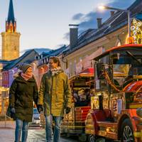 Advent Villach Tschutschubahn am Adventmarkt