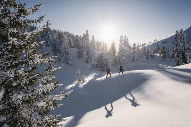 Social Region Villach Winter NaturparkDobratsch Skitour