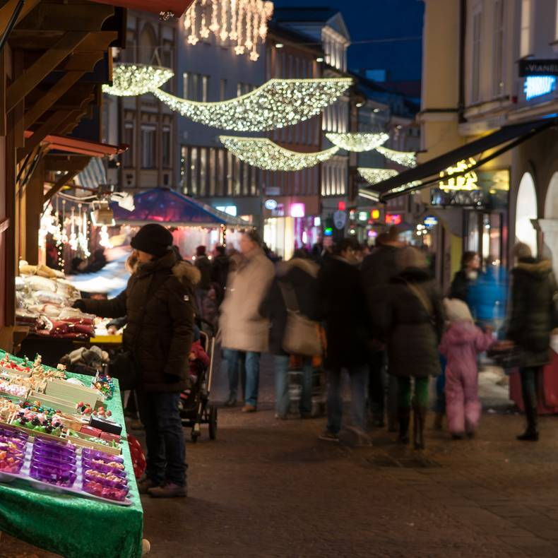 Silvestermarkt am Hauptplatz Villach