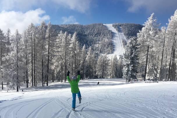 Hochrindl Skigebiet