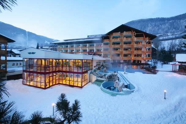 Hotel Pulverer im Winter