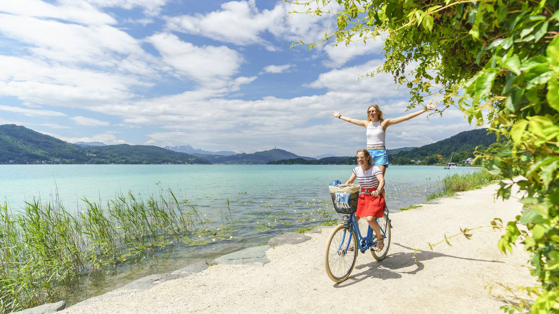Seenschleife Woerthersee Girls