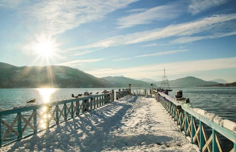 Klagenfurt Winter Steg Ostbucht c Pixelpoint Multimedia