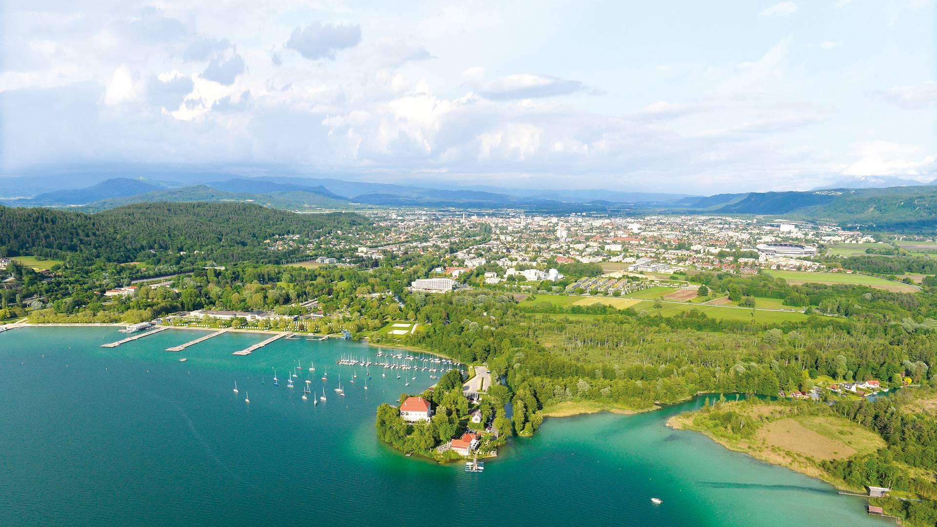 Klagenfurt Luftbild