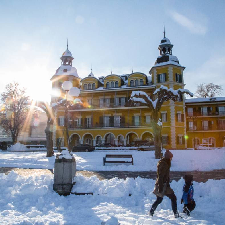 Schloss Velden im Winter © pixelpoint multimedia