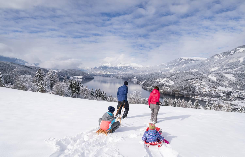 Millstaetter See Winter