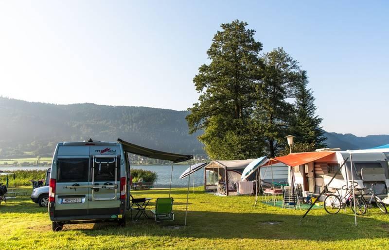 Schöne Campingplätze in Kärnten direkt am See.