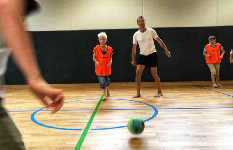 Familienhotel Post_Hallen-Fussball