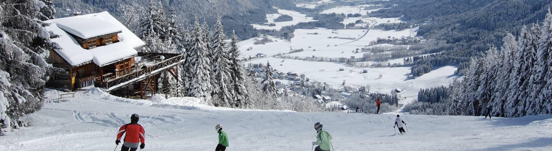 Familienskigebiet Gitschtal quer