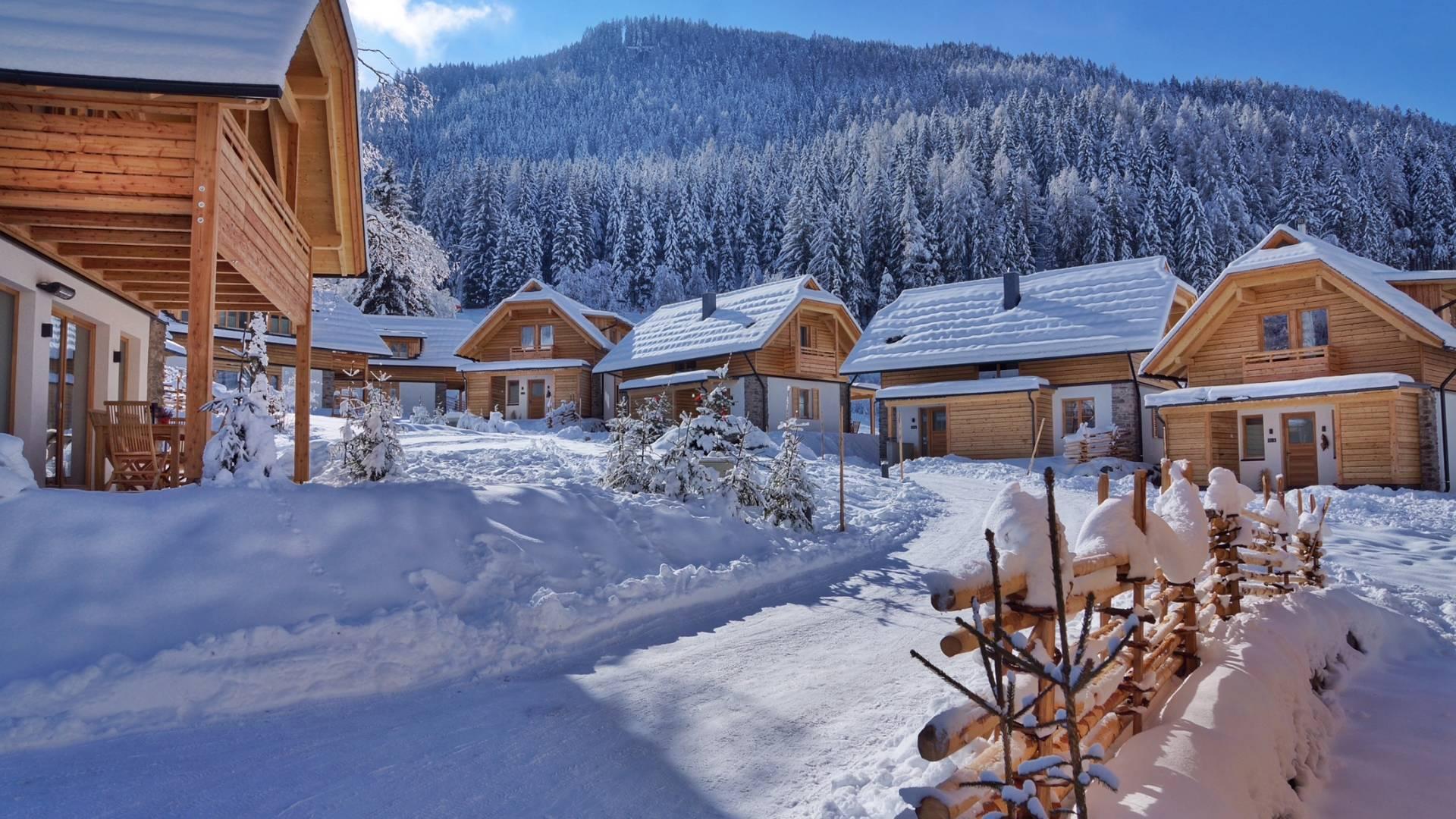 Hotel Trattlerhof in Bad Kleinkirchheim_Trattlers Hof Chalets im Winter