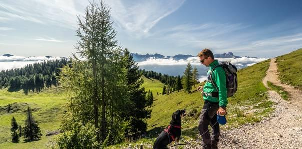 Naturel Hoteldorf Schönleitn Wandern mit Hund