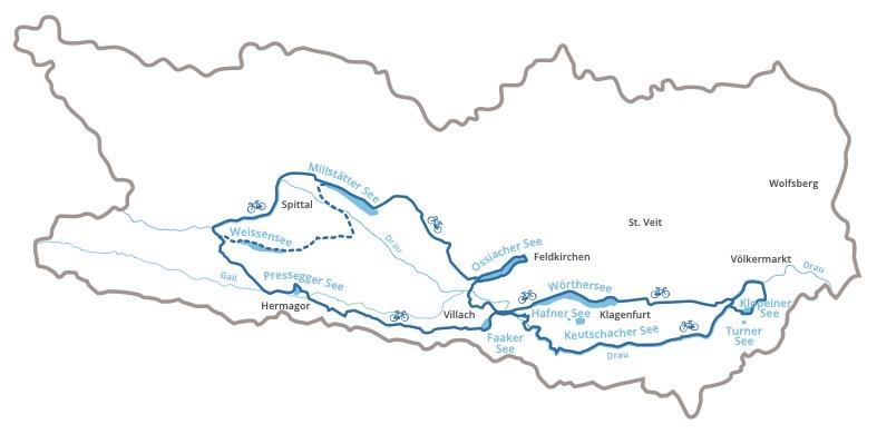 RadSpinne Seenschleife 2021